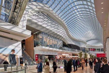 现代感风格购物中心设计概念