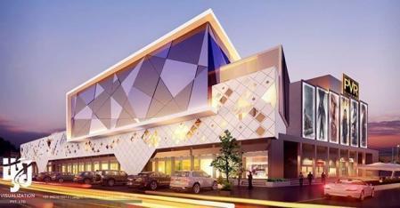 现代感风格购物中心设计设计图片