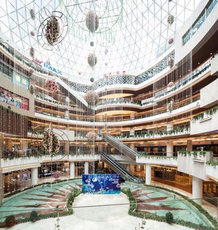 现代感风格购物中心设计灵感来源