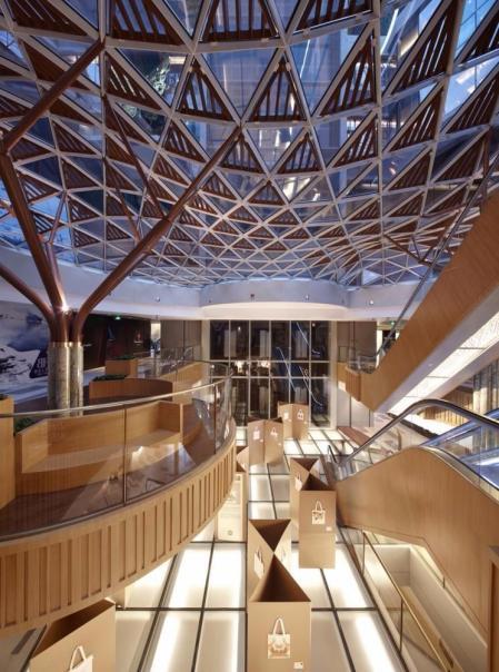 现代感风格购物中心设计design