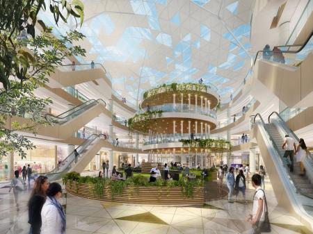 现代感风格商场设计大全