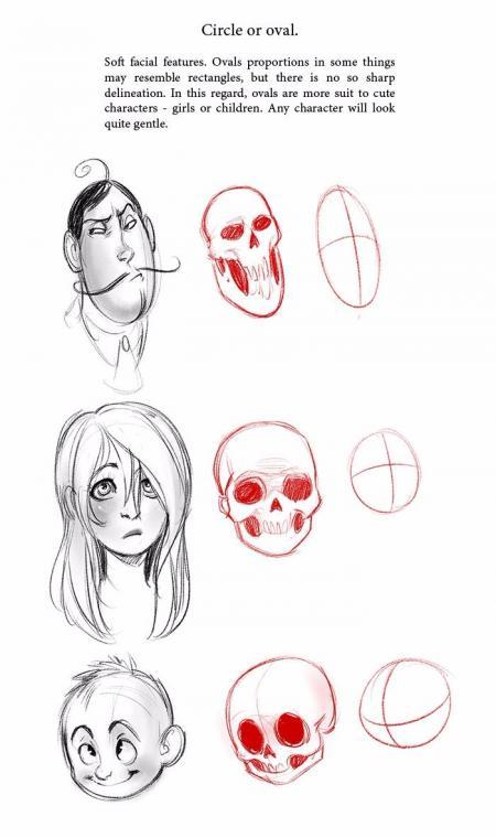 卡通手绘头像图片