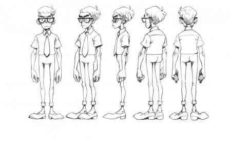 人物卡通形象设计步骤