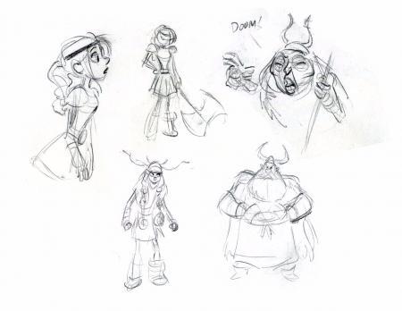 卡通形象设计要素