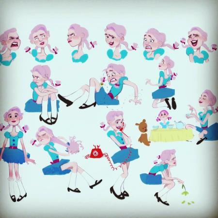 儿童卡通形象图片