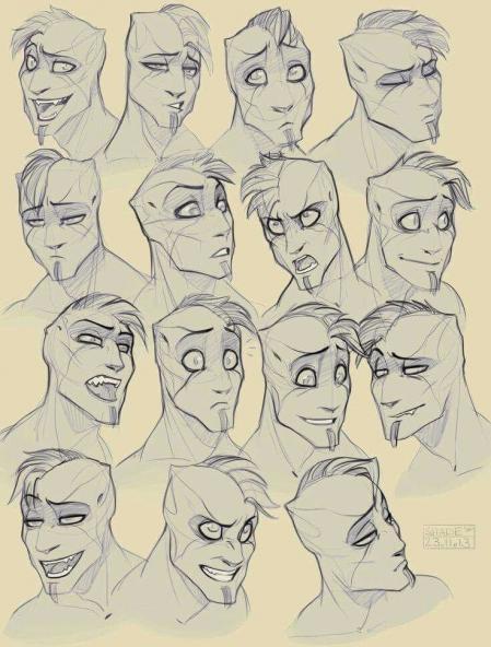 手绘漂亮的卡通形象角色设计图片