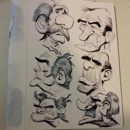 手绘可爱的卡通人物方案