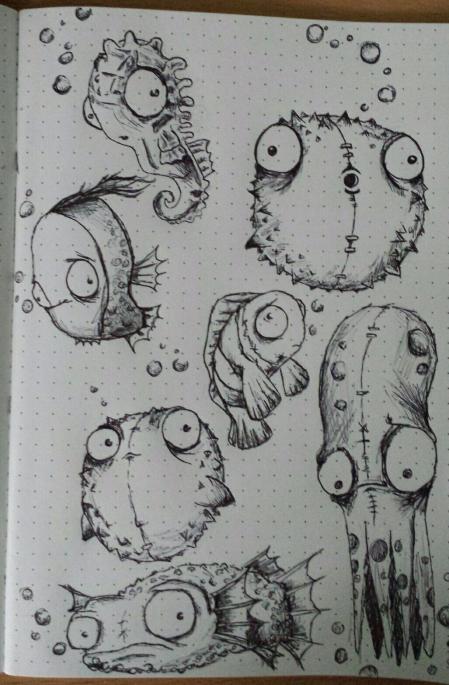 手绘可爱的sketch灵感