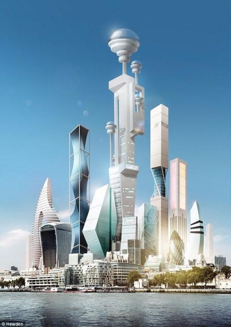 未来建筑图库