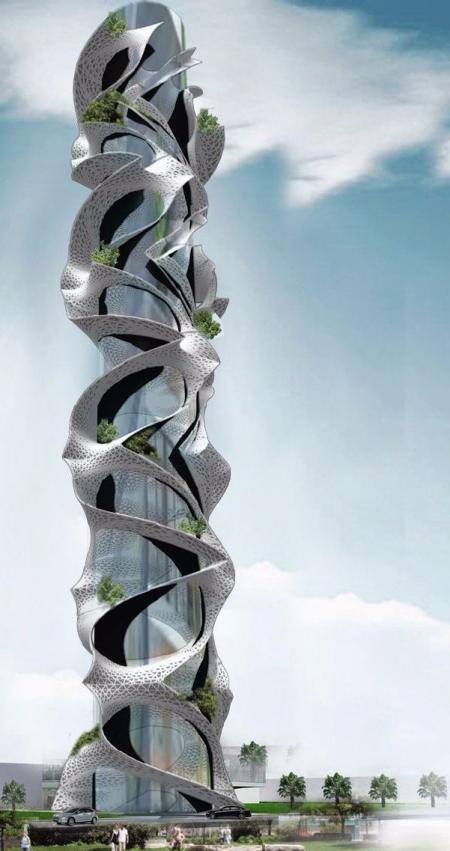 未来建筑高清图