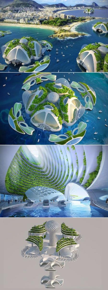 未来建筑设计图片稿