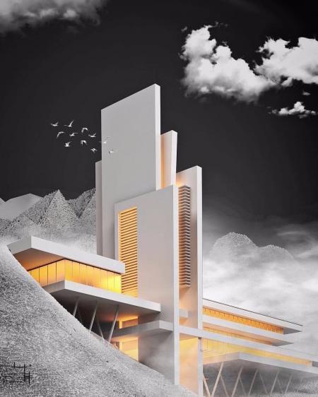 未来建筑图库设计