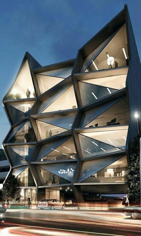 未来建筑图片稿 设计