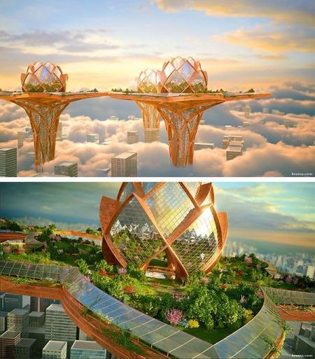 未来建筑作品集 设计