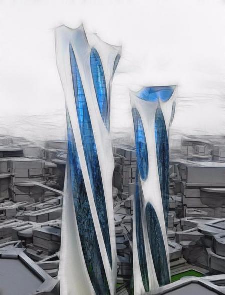 创意未来建筑