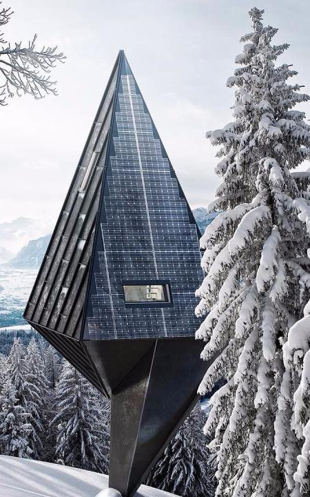 网红未来建筑