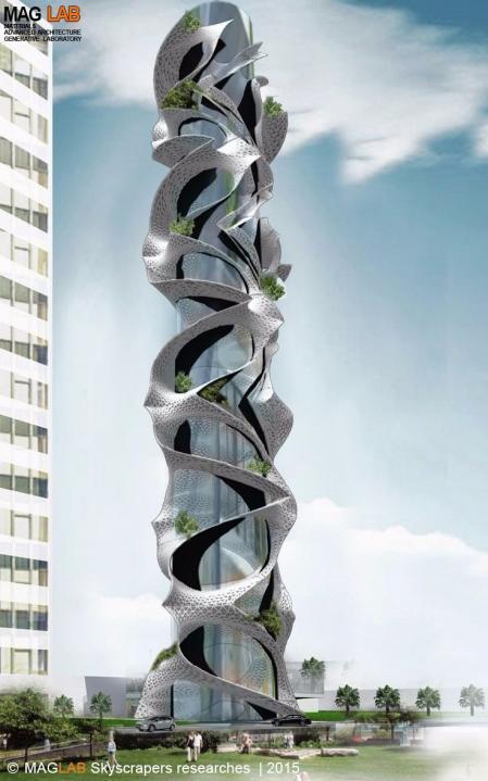精品未来建筑