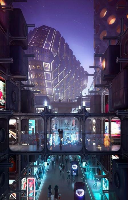 设计图库 未来建筑