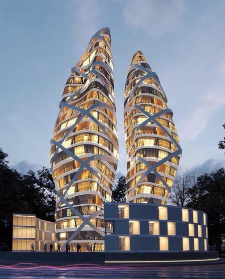 参考设计 未来建筑