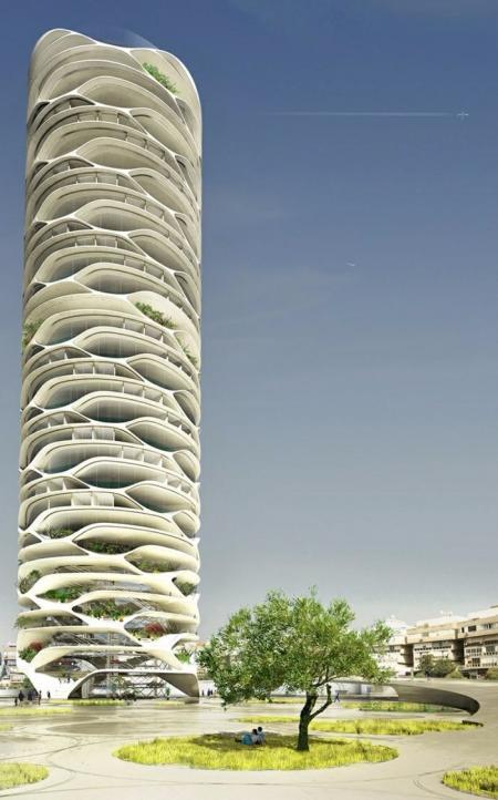 灵感图设计 未来建筑