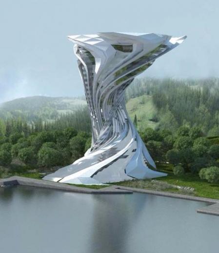 效果图 设计 未来建筑