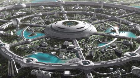 免费设计 未来建筑