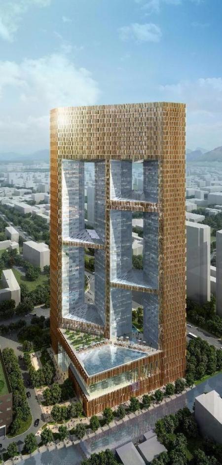 未来建筑 图库设计