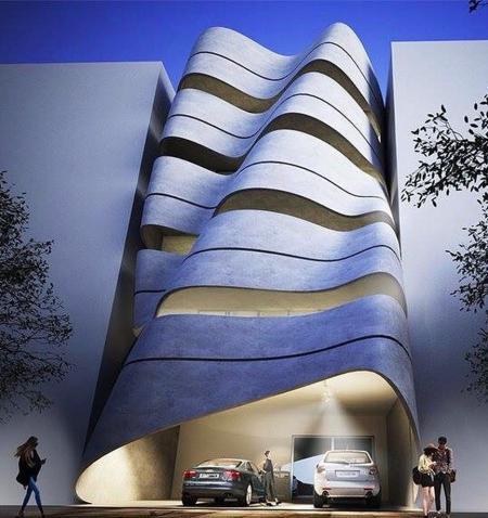 未来建筑 灵感图设计