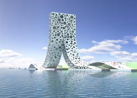 未来建筑 效果国设计