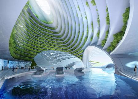未来建筑 图纸 设计