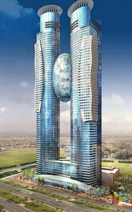 未来建筑 简单设计