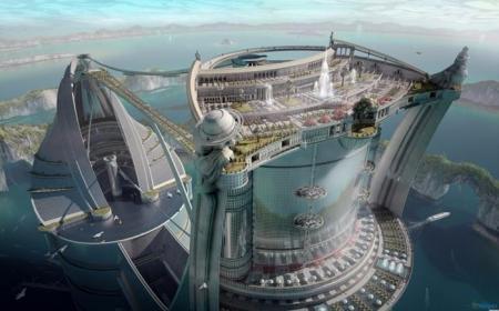 创意未来建筑设计图