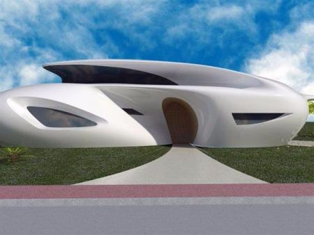 创意未来建筑图设计