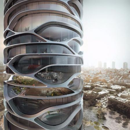 创意未来建筑参考 设计