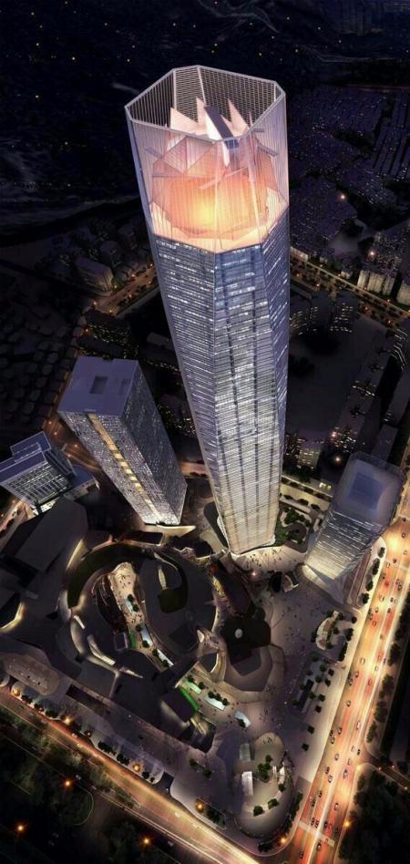 创意未来建筑效果国 设计