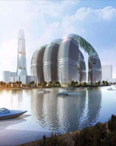 创意未来建筑效果图 大全