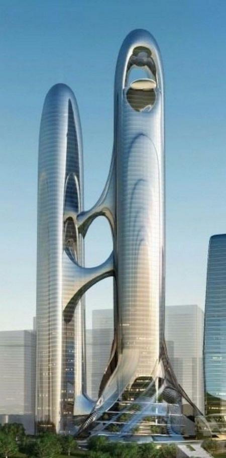 创意未来建筑免费设计