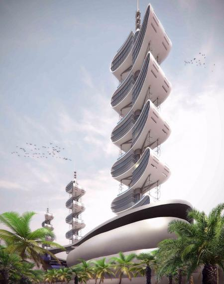 特色未来建筑设计好图