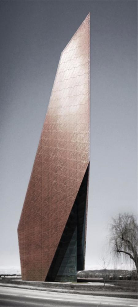 特色未来建筑设计效果国
