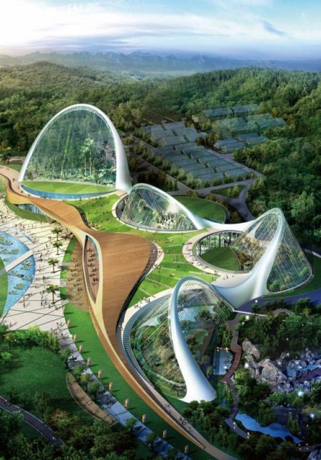 特色未来建筑灵感图设计