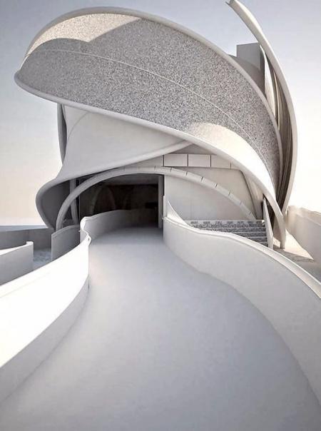 高端未来建筑图库