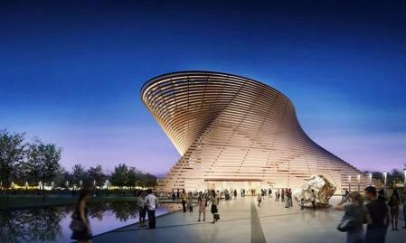 高端未来建筑图纸