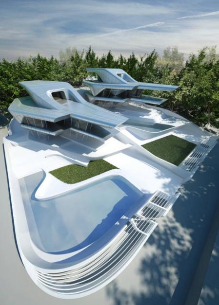 高端未来建筑设计素材
