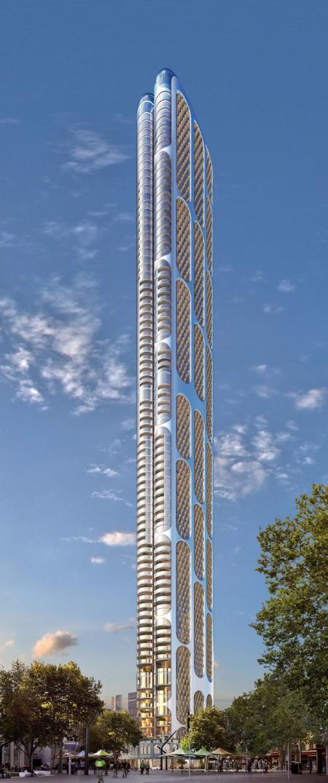 高端未来建筑设计效果国