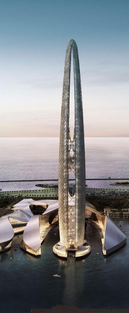 高端未来建筑图库设计