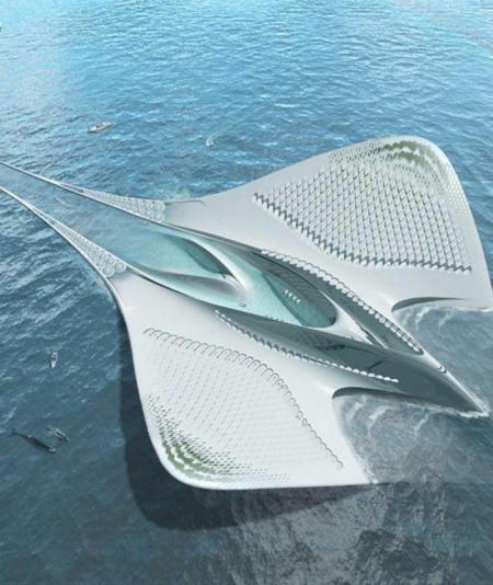 高端未来建筑高清图设计