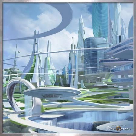 高端未来建筑搞图设计