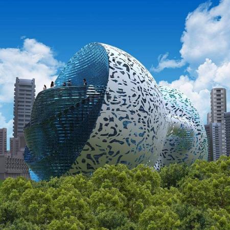 高端未来建筑图片 设计