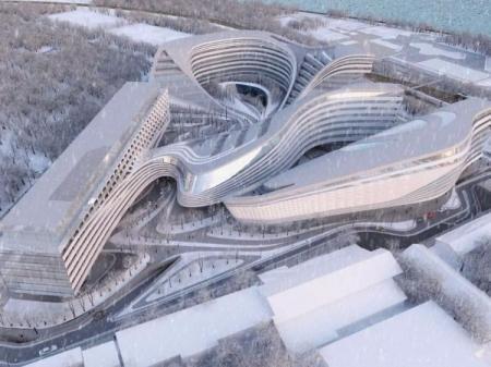 高端未来建筑参考 设计