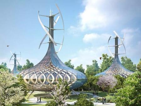 高端未来建筑素材 设计